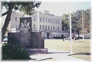 Courthouse and War Memorial