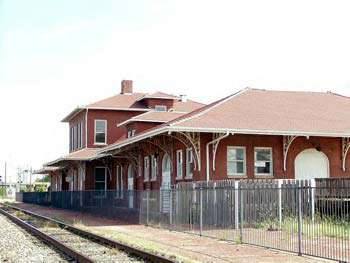 The Old Santa Fe Depot of Guthrie