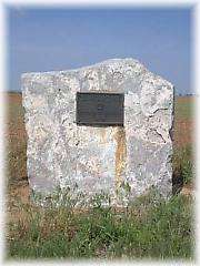 Chisholm Trail Marker