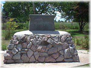 Wagon Train Monument