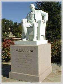 The Marland Family Statues