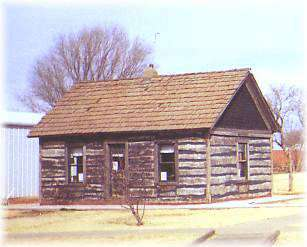 Strong City-Kendall Log Cabin