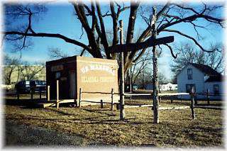 "Old Jail and ""Boot Hill"""