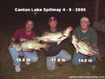 Canton Lake Fishing