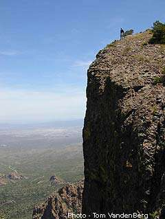 Big Bend National Park Rappelling