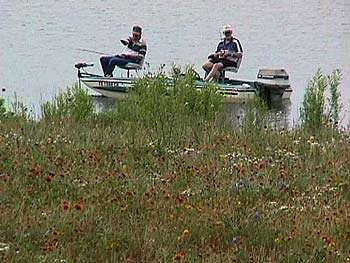 Hords Creek Lake Fishing