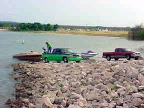 Waco Lake Boat Ramps