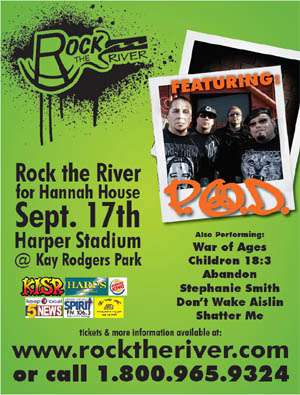 Annual Rock the River for Hannah House