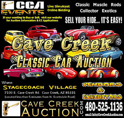 Spring Cave Creek Classic & Collector Car Auction
