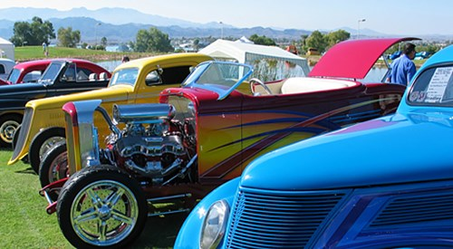 Annual Relics & Rods Run to the Sun