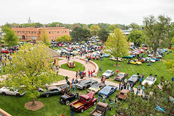 McPherson College Car show