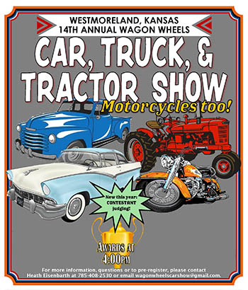 Annual Wagon Wheels Car, Motorcycle, and Tractor Show