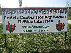 Prairie Center Holiday Bazaar & Silent Auction