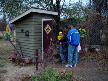 Elk Falls Open House and Outhouse Tour