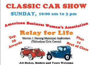 American Business Women Relay for Life Car Show