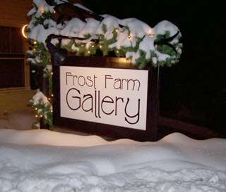Annual Holiday Open House at Frost Farm Gallery