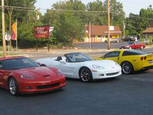 This is a two-day event (Meet-N-Greet, Corvette/Car Show and Party) hosted by the  STL Night Riders Corvette Club of St. Louis, MO. (Rain or Shine!) Entertainment, Vendors, and Food & Refreshments will be available at the