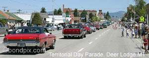 A parade along Main Street, Deer Lodge of classic cars, Hot Rods, Muscle Cars and other special interest vehicles. Followed by Jaywalkers Jamboree, where Main Street is closed to traffic and the public can buy goods and craft items from booths set up by local merchants. Food and Drink is also available. At 1pm is the Country Showdown, followed by a FREE Street Dance from 7pm till 1pm. A great day out, and fun for all the family.