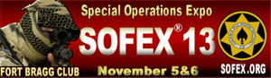 Special Operations Expo - SOFEX 13