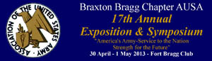 Braxton Bragg Chapter AUSA Annual Exposition & Symposium