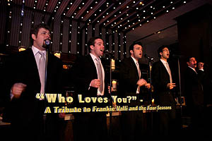 Who Loves You - Tribute to Frankie Valli & 4 Seasons & Beyond @ Theatre Three Port Jefferson NY