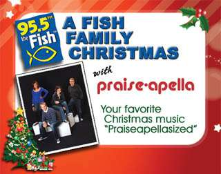 A Fish Family Christmas with Praise-Apella