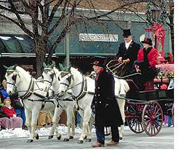Historic Lebanon's Horse Drawn Carriage Parade and Christmas Festival