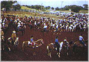 Mangum Mounties Rodeo and Pioneer Reunion