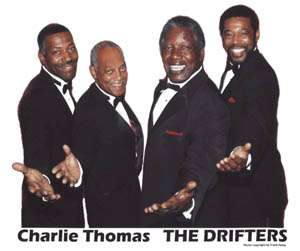 Charlie Thomas Drifters @ Cove Haven Resort Lakeville PA