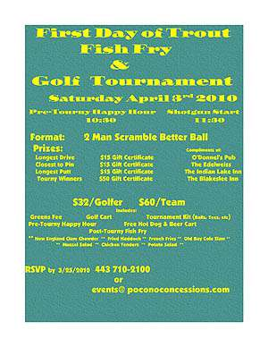 First Day Fish Fry & Golf Outing