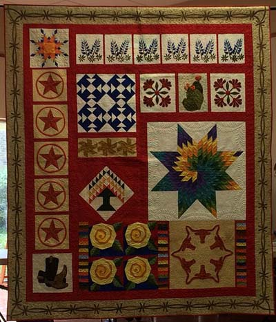 The Greater San Antonio Quilt Guild Biennial Luncheon and Quilt Auction