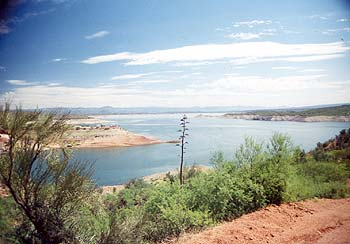 San Carlos Lake, Arizona