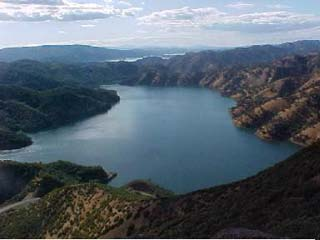 Lake Berryessa, California