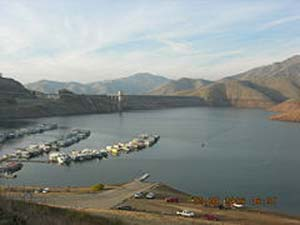 California lakes and reservoirs for Lake kaweah fishing