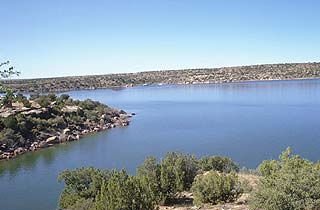 New mexico lakes and reservoirs for Cochiti lake fishing