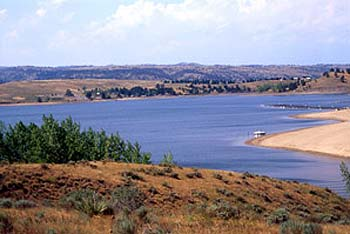 Angostura Reservoir, South Dakota