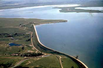 Belle Fourche Reservoir, South Dakota