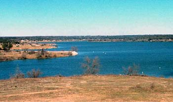 Georgetown Lake, Texas