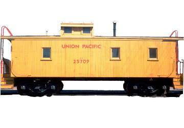 1909 Union Pacific Wooden Caboose