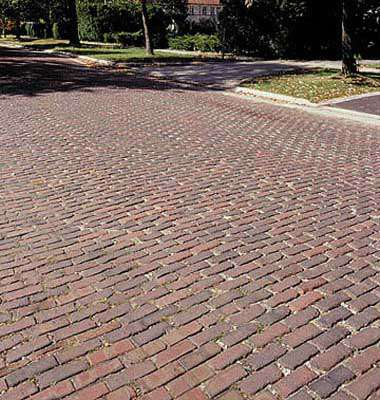 Brick Streets - Downtown Business District - Park