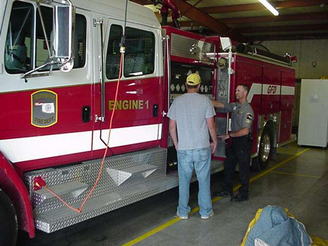 Fire Department Tour