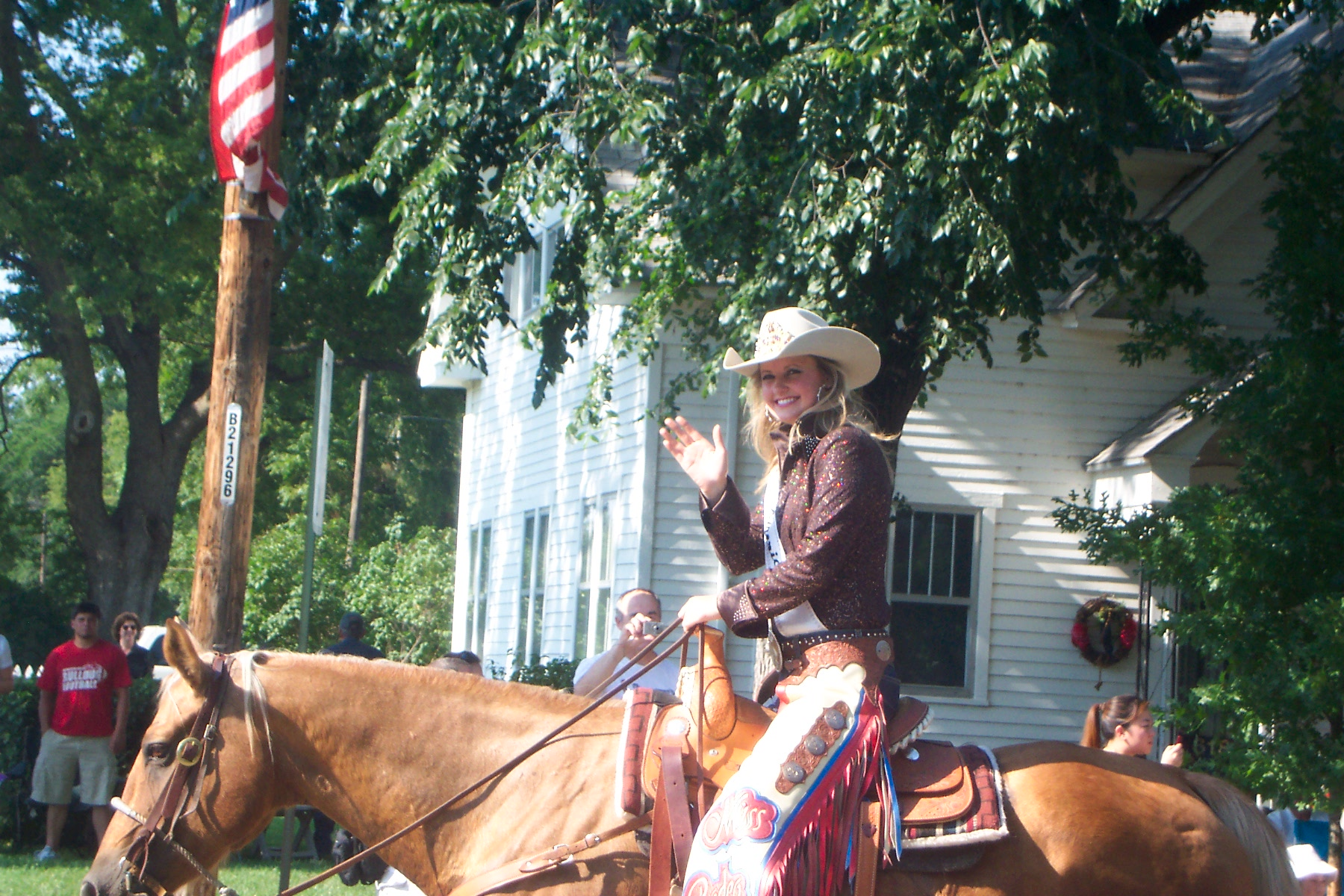 Central KS Free Fair Western Parade - 2015