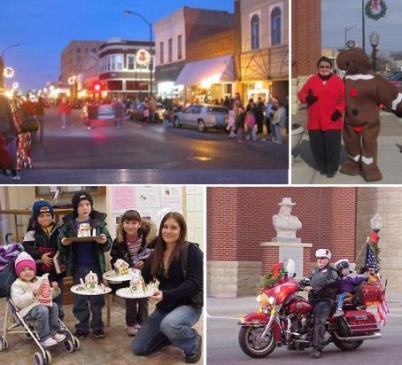 Enjoy horsedrawn wagon rides, a baking contest, a visit with Santa, vendors, decorating cookies, children's arts & crafts, storytelling and the illuminated holiday parade will take place on Main Street at 6 pm on Saturday. Plus check out the FrostFest activities and specials offered by downtown merchants. Call us for a complete schedule of event - 785-621-4171.  Also find the FrostFest Facebook page for lots more information. 