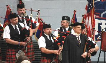 The McPherson Pipe Band Performance