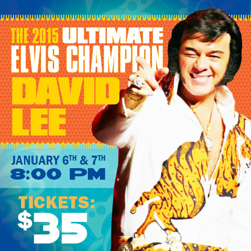 David Lee: World Champion Elvis Entertainer