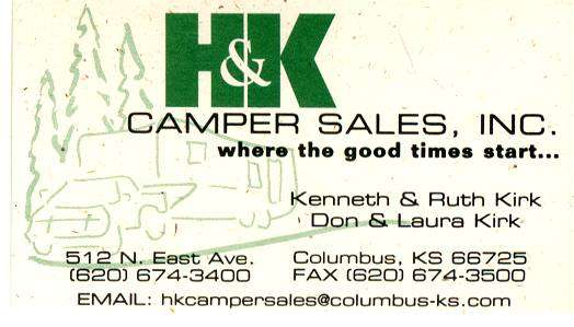 H & K �Camper Sales, Inc.