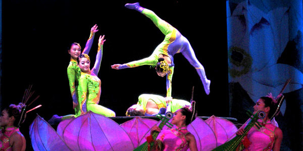 The Flying Acrobatic Show in Chaoyang Theatre Beijing